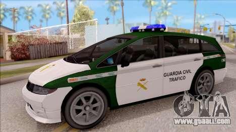 Dinka Perennial MPV Spanish Police for GTA San Andreas