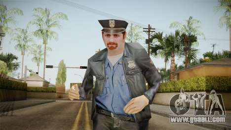 Driver PL Police Officer v4 for GTA San Andreas