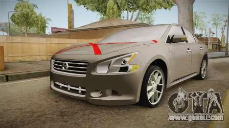 Nissan Maxima 2011 for GTA San Andreas