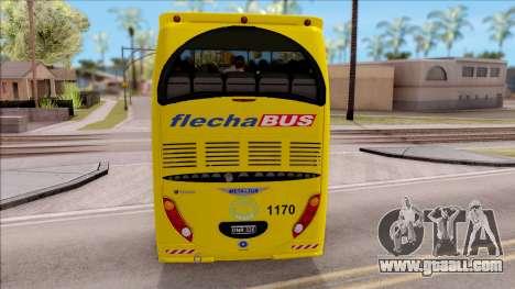 Scania Metalsur Starbus 2 Descapotable for GTA San Andreas back left view