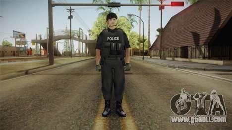 New SWAT Skin for GTA San Andreas second screenshot