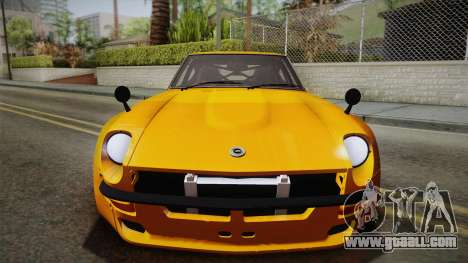 Nissan Fairlady Z 432 Rocket Bunny for GTA San Andreas right view