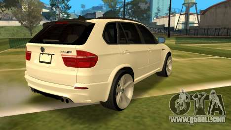 BMW X5M v1.2 for GTA San Andreas left view