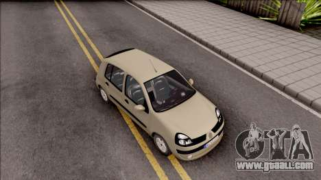 Renault Clio v1 for GTA San Andreas right view