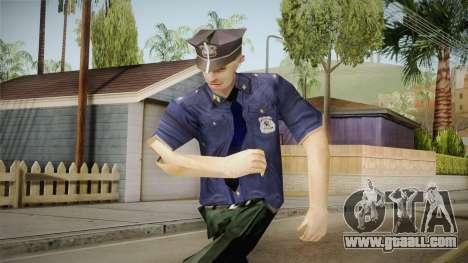 Driver PL Police Officer v3 for GTA San Andreas