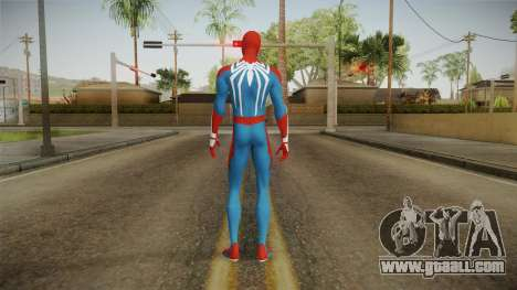 Spider-Man E3 PS4 Skin for GTA San Andreas third screenshot