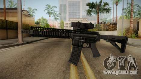 MK18 from MOH: Warfighter for GTA San Andreas