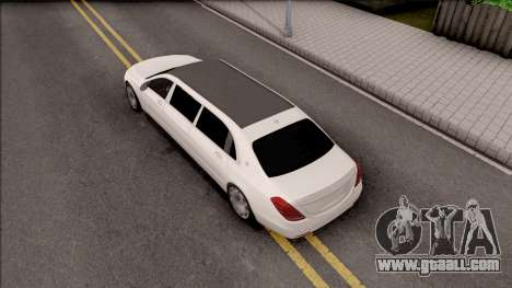 Mercedes-Maybach S600 Pullman for GTA San Andreas