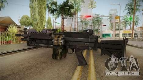 M249 Light Machine Gun v3 for GTA San Andreas second screenshot
