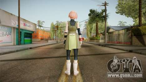Gods Eater: Ressurection - Kanon Daiba for GTA San Andreas third screenshot