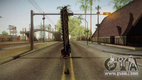 W40K: Deathwatch Chain Sword v4 for GTA San Andreas third screenshot