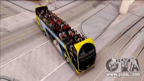 Scania Metalsur Starbus 2 Descapotable for GTA San Andreas right view