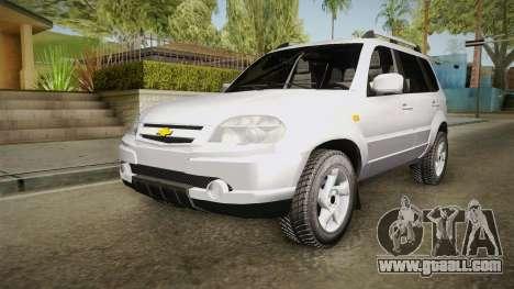 Chevrolet Vitara for GTA San Andreas