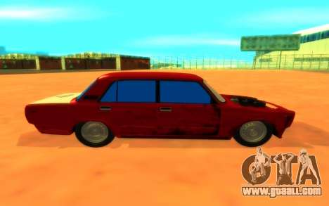 2107 for GTA San Andreas back left view