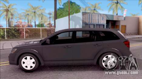 Dodge Journey 2009 for GTA San Andreas left view