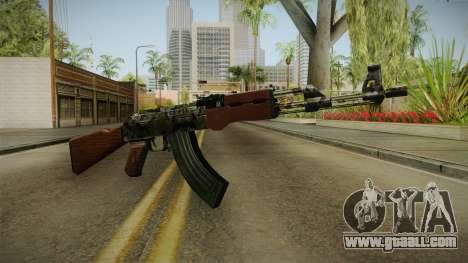 CF AK-47 v2 for GTA San Andreas second screenshot