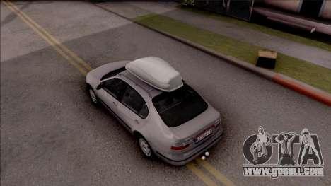 Seat Toledo 1.9 TDi for GTA San Andreas back view