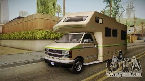 GTA 5 Brute Camper for GTA San Andreas right view