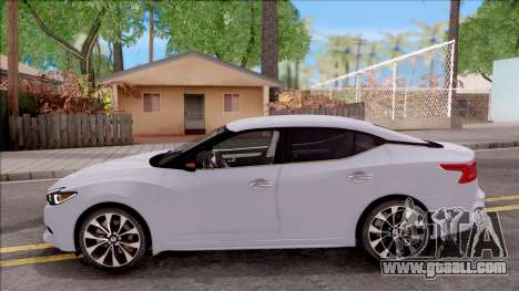 Nissan Maxima 2016 for GTA San Andreas left view