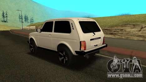 NIVA Armenian for GTA San Andreas back left view