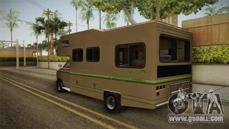 GTA 5 Brute Camper for GTA San Andreas back left view