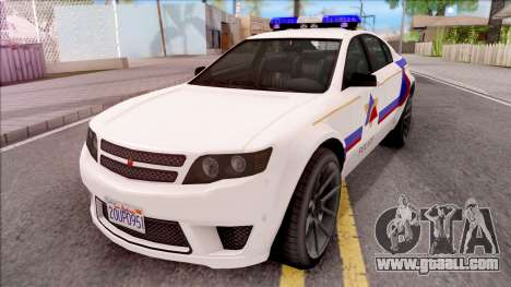 Cheval Fugitive Hometown PD 2012 for GTA San Andreas