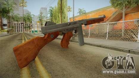 Thompson M1A1 for GTA San Andreas second screenshot