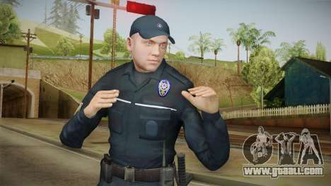 Turkish Police Officer Long Sleeves for GTA San Andreas