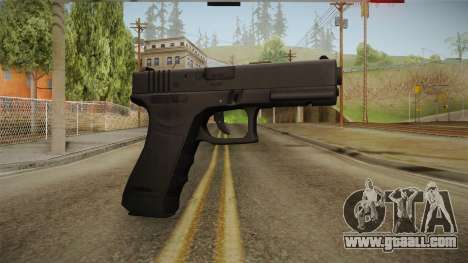 Glock 17 3 Dot Sight Blue for GTA San Andreas