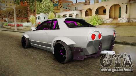Nissan Skyline R32 Rocket Bunny for GTA San Andreas left view