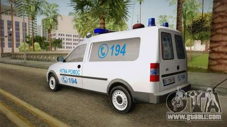 Opel Combo Ambulance for GTA San Andreas left view