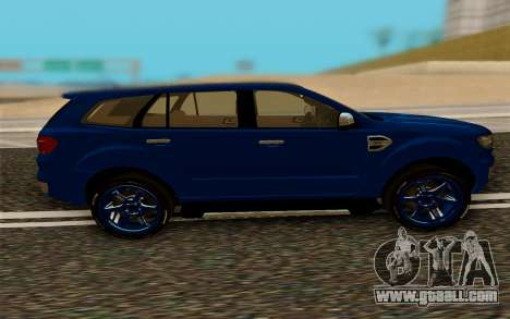 Ford Everest 2017 for GTA San Andreas