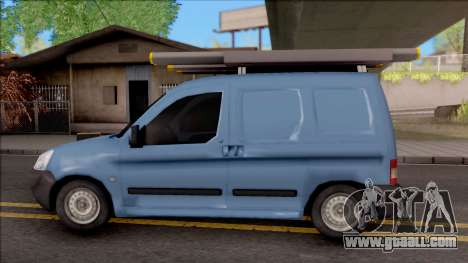 Citroen Berlingo Mk2 Van for GTA San Andreas left view