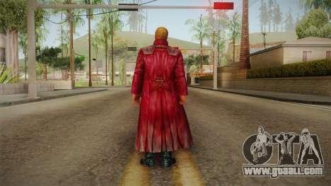 Marvel Future Fight - Star Lord (GOTG Vol. 2) for GTA San Andreas third screenshot