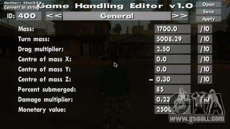 game value editor