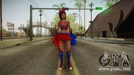 Cheer Captain Kerrigan v5 for GTA San Andreas second screenshot