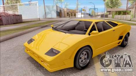 GTA V Pegassi Torero IVF for GTA San Andreas