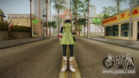 Gods Eater: Ressurection - Kanon Daiba for GTA San Andreas second screenshot