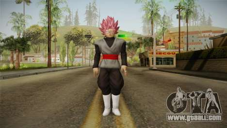 DBX2 - Goku Black SSJR v2 for GTA San Andreas second screenshot