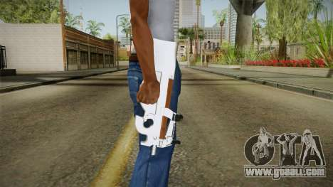 Chrome P90 for GTA San Andreas third screenshot