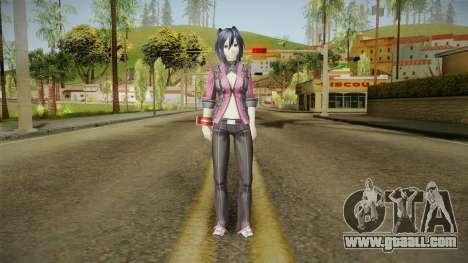 God Eater 2: Rage Burst - Yoshino Kouzuki for GTA San Andreas second screenshot