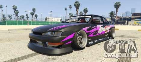 Nissan Silvia S14 Kouki BN Sports for GTA 5