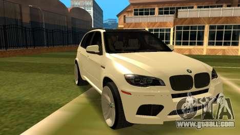 BMW X5M v1.2 for GTA San Andreas