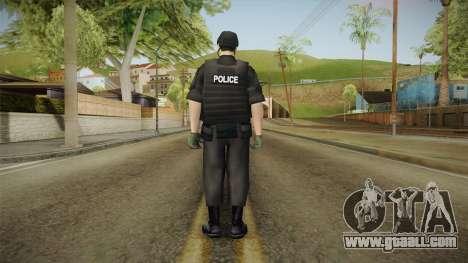 New SWAT Skin for GTA San Andreas third screenshot