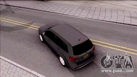 Dodge Journey 2009 for GTA San Andreas back view