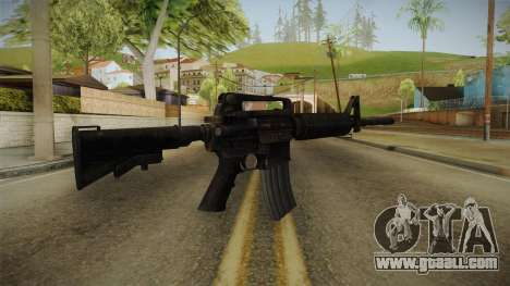 Colt M4A1 Rusty for GTA San Andreas second screenshot