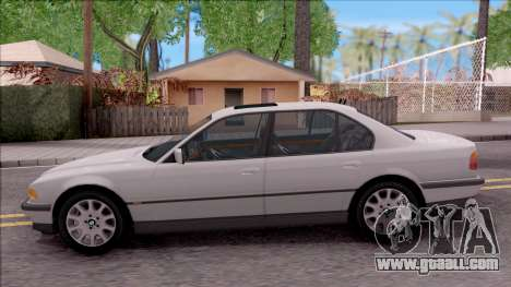 BMW 750i E38 1996 for GTA San Andreas left view