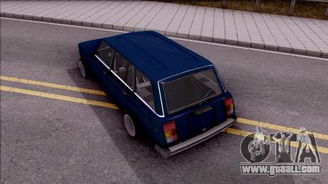 VAZ 21046 for GTA San Andreas back view