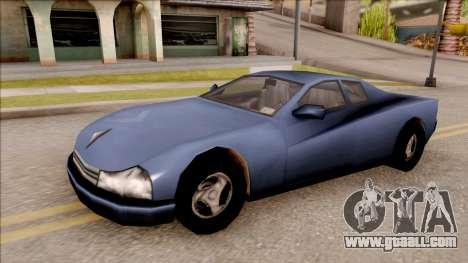 Cheetah from GTA 3 for GTA San Andreas