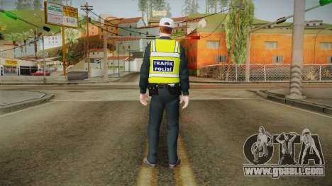 Turkish Traffice Police Officer-Long Sleeves for GTA San Andreas third screenshot